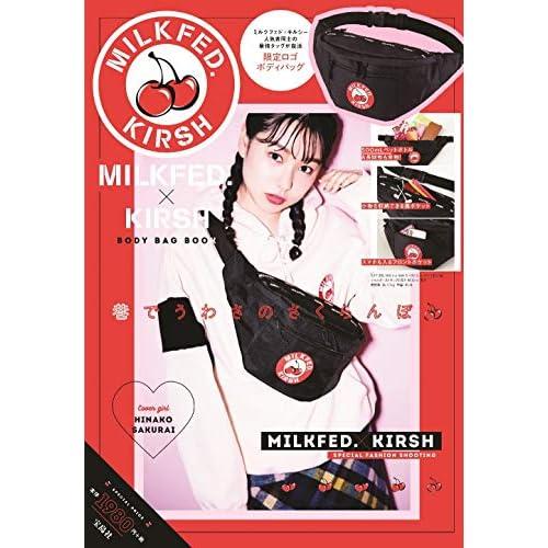 MILKFED. KIRSH BODY BAG BOOK 画像