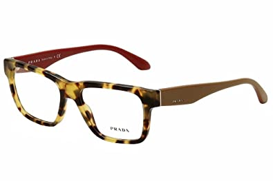2b910cb06b Amazon.com  Prada VPR16R 7SO 101 Eyeglasses Tortoise Square  Shoes