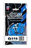 GripIt Drywall Anchor Fixing Holds Up To 250 Pounds or 113 Kilograms of Weight. Perfect For Hanging Heavy Items Such as TVs, Boilers, Cabinets on Plasterboard Walls. Removable and Reusable Screws - (8 Pack)