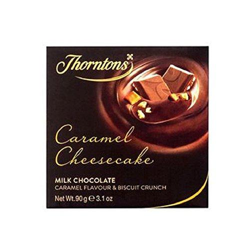 Thorntons Caramel Cheesecake Chocolate Block (90g) (Fudge Cheese Cream)
