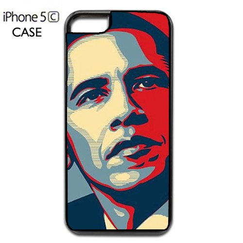 Barack Obama Apple iPhone 5C PLASTIC cell phone Case / Cover Great Gift Idea