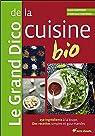 Le Grand Dico de la cuisine bio : 150 ingrédients à la loupe, des recettes simples et gourmandes par Hampikian