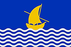 magFlags Large Flag Oficial Albalat de la Ribera   La vila d Albalat de la Ribera   landscape flag   1.35m²   14.5sqft   90x150cm   3x5ft - 100% Made in Germany - long lasting outdoor flag