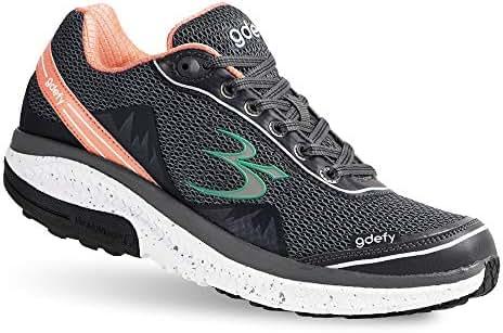 Gravity Defyer Proven Pain Relief Women's G-Defy Mighty Walk - Best Shoes for Heel Pain, Foot Pain, Plantar Fasciitis