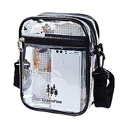 Clear Messenger Bag for Women & Men NFL ...