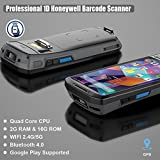MUNBYN Android 7.0 Rugged Handheld POS Terminal with NFC Function Touch Screen Bluetooth WiFi GPS and 1D Honeywell Barcode Scanner for Delivery, Warehouse Management