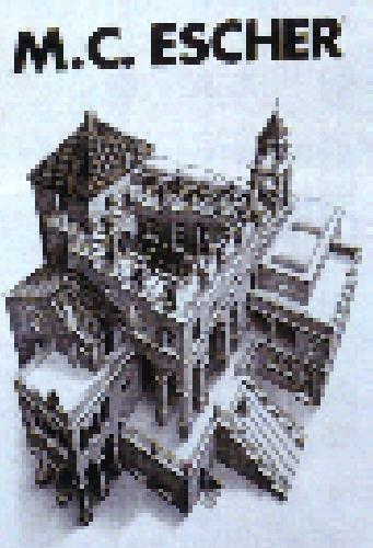 Amazon com: M C Escher Ascend Descend Puzzle: Toys & Games