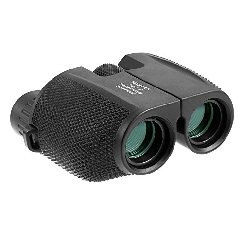 10x25 Compact Binoculars High Powered Waterproof Portable  Binoculars Low Light Night Vision with Fully Multi-Coated Lens for Outdoor, Hunting, Bird Watching, Concerts