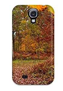 Premium Artistic Normal Rainy Fall Day Back Cover Snap On Case For Galaxy S4