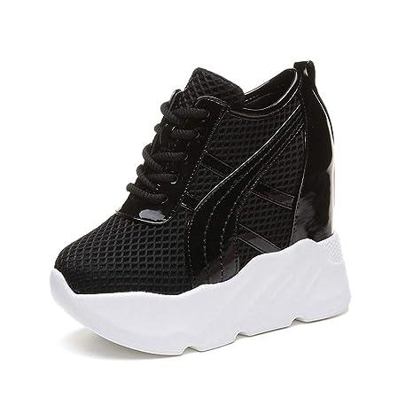 a4a2088a7c77f Amazon.com: ASO-SLING Womens Casual Platform Shoes Fashion Lace Up ...