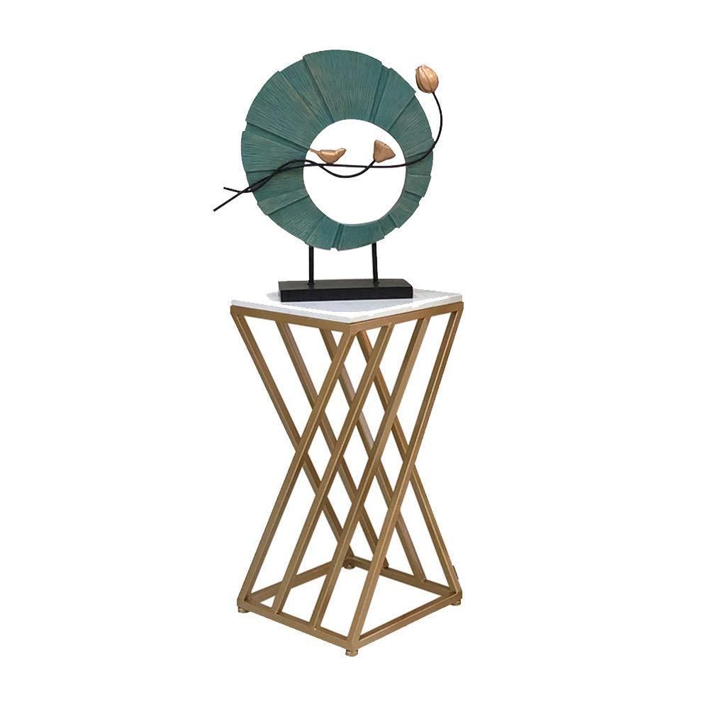 QXX Fiore Cornice in Ferro battuto Soggiorno Decorazione Semplice e Moderno Pavimento Fiore Stand casa cremagliera Creativo cremagliera Vaso di Fiori verde Coperta (Dimensioni   30  30  60cm)