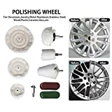 Hakkin 9 Pcs Buffing Pad Polishing Wheel