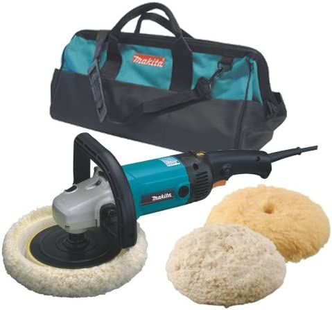 Makita 9227CX3 7-Inch Hook and Loop Electronic Polisher-Sander with Polishing Kit Discontinued by Manufacturer