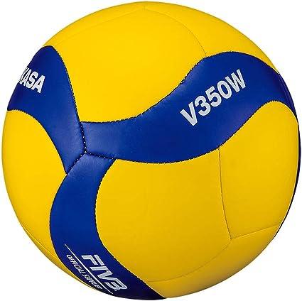 MIKASA V350W - Balón de Voleibol, Color Azul, Talla 5: Amazon.es ...