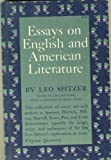 Essays on English and American Literature, Spitzer, Leo, 069101261X