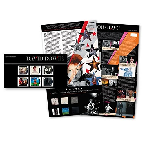 David Bowie Presentation Pack Issue Date: 14 March 2017