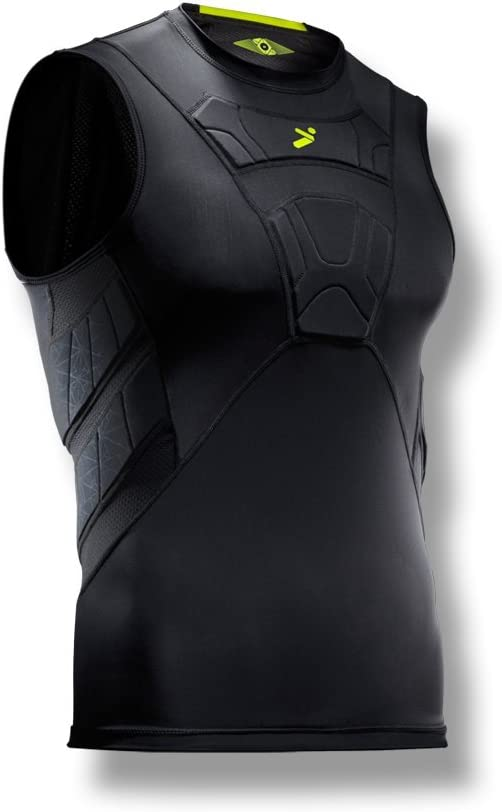 Talla S Color Negro Bodyshield Field Player Sleeveless Undershirt Storelli