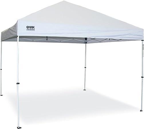 Quik Shade, carpa plegable 3 x 3 m modelo Sport, color blanco: Amazon.es: Jardín
