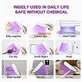 VANELC UV Light Sanitizer Wand, Portable UVC Travel