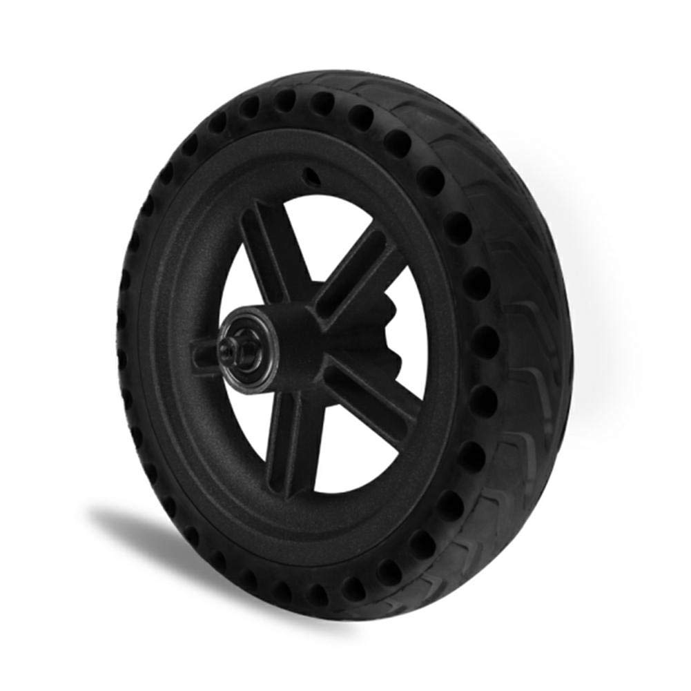 iBaste_S Solid Tire - Scooter 8.5 Inches Scooter Wheel's Replacement Shock Absorption Tire for Xiaomi Mi Electric Scooter Skate