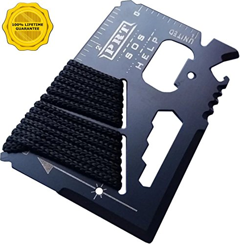 Survival Multi Tool - RumbaDock Survival Gear Tools 14-1 Credit Card Multitool- Best SAS Survival Kit Multi-tool- Ideal for Fishing Survival Kit Multitool: Lifetime Warranty, - Best Tool Credit Multi Card