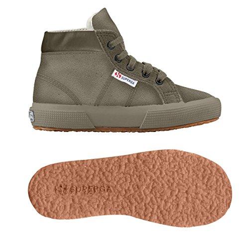 Superga 2204 - Suej - Zapatillas de cuero para niño Full Antilop