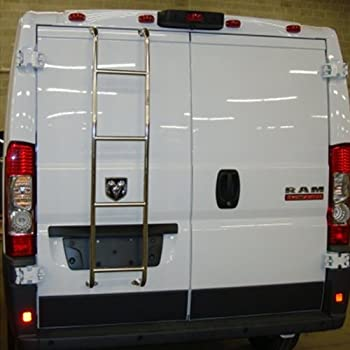 Amazon Com Black Rear Door Van Ladder 2014 2017 Ram Pro