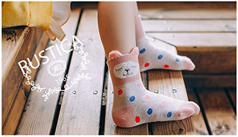 XRDSS Childrens Winter Warm Cute Pattern Socks Kids Boys Girls Mid Tube Socks