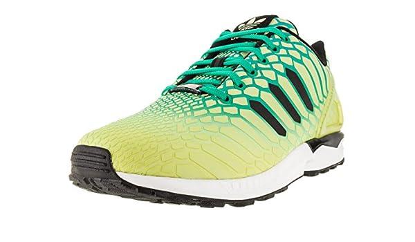 low priced 1f4a8 cfa06 adidas ZX Flux Men's Shoes Frozen Yellow/Shock Mint/White ...