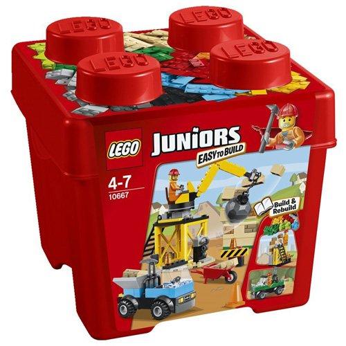 Lego 10667 - Juniors Starter Steinebox Baustelle