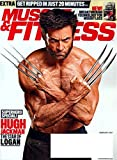 img - for MUSCLE & FITNESS Magazine February 2017 LOGAN'S HUGH JACKMAN as WOLVERINE book / textbook / text book