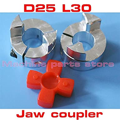 6mm Inner Diameter: 6.35mm to 12mm 10mm 1//4 - 6.35mm 8mm Ochoos 2pcs Aluminium CNC Stepper Motor Flexible Couplings D25 L30 Shaft Coupler 5mm 12mm 12.7mm 1//2
