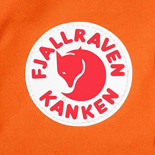 Fjallraven - Kanken Classic Pack, Heritage and Responsibility Since 1960, One Size,Burnt Orange/Deep Red by Fjallraven (Image #8)