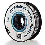 3D Solutech Silver Metal 1.75mm PLA 3D Printer Filament 2.2 LBS (1.0KG) - 100% USA 3D Solutech Supplies