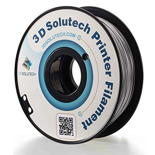 3D Solutech Silver Metal 3D Printer PLA Filament 1.75MM Filament