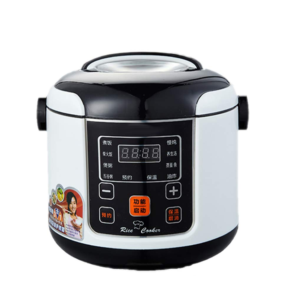 SLFD Multi-Use Electric Rice Cooker2L Household Electric Pressure Cooker Cooking Slow Cooker Nonstick Pot Intelligent