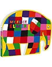 My First Elmer. Shaped Board Book (Elmer Picture Books)