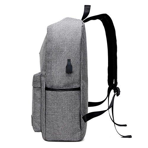 TT Bolso de hombro de los hombres Bolsa de viaje de la lona Bolso de la computadora de la manera