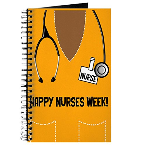 CafePress Happy Nurses Week Spiral Bound Journal Notebook, Personal Diary, Task Journal -