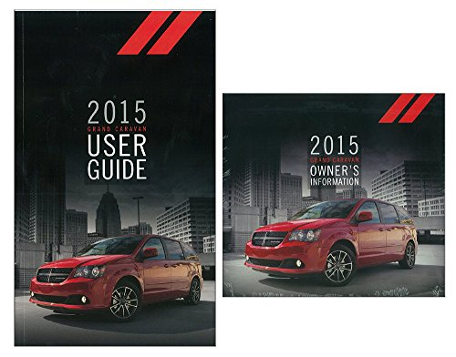 (bishko automotive literature 2015 Dodge Grand Caravan Truck User Guide Plus Owners Manual DVD Operator Book)