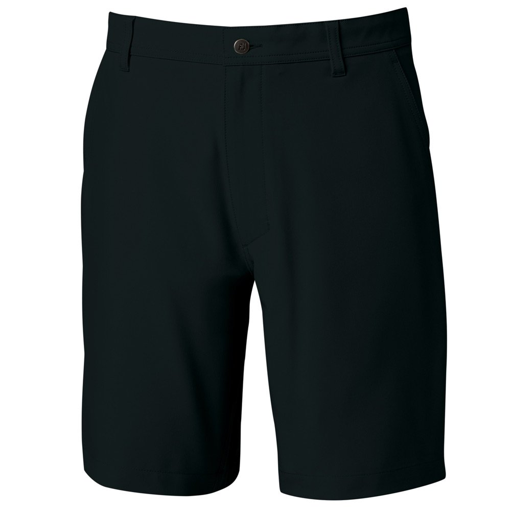 FootJoy Men's Lightweight Performance Golf Shorts (30, Black)