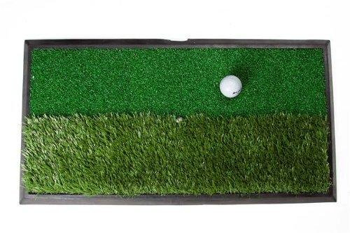 Orlimar Real Strike 13 Series Dual Rough/Fairway Surfaces with Rubber Mat (13 x 24-Inch)