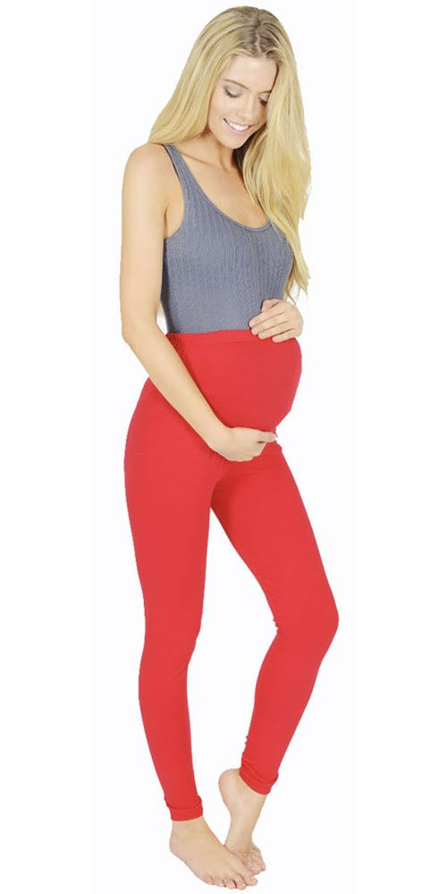 Women's Wardrobe Maternity Leggings Full Length Very Comfortable L0306-Parent