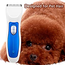 Flytt Rechargeable Pet Grooming Clipper ,Cordless Electric Hair Trimmer for Large,Medium,Small Dogs and Cats.