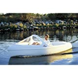 Escapade Pedal Boat with Arch and High Windshield Seat Color: Turquoise