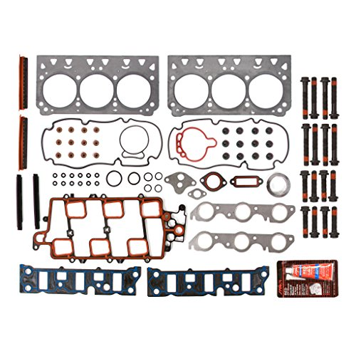 Evergreen HSHB8-10438L Cylinder Head Gasket Set Head Bolt