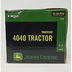 John Deere Ertl 4040 Tractor 1:16 Scale