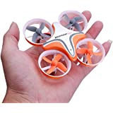 Teekland US STOCKMini Drone/Quadcopter, Headless Mode Remote Control RC Quadcopter (B03 716 Motor 53500rpm) (Orange)