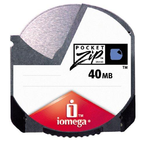 Iomega 40 MB PocketZip Disk (4 Pack)