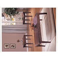 ACME Chester Merlot Coffee End Table Set 3 Piece